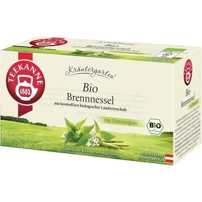 Grosspackung Teekanne Bio Kräutergarten, Brennessel Zitronengras 12 x 20er = 240 Beutel