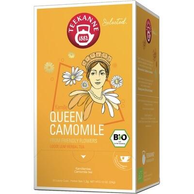 Grosspackung Teekanne Bio Luxury Cup Camomile  8 x 20er = 160 Beutel