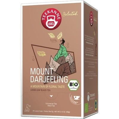 Grosspackung Teekanne Selected Bio Luxury Cup Mount Darjeeling 8 x 20er = 160 Beutel
