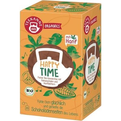 Grosspackung Teekanne Bio Organic Happy Time 6 x 20er = 120 Beutel