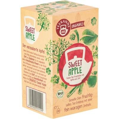Grosspackung Teekanne Bio Organic Sweet Apple 6 x 20er = 120 Beutel