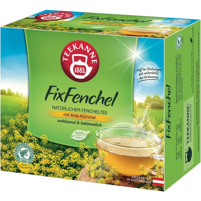 Grosspackung Teekanne FixFenchel 12 x 40er = 480 Beutel