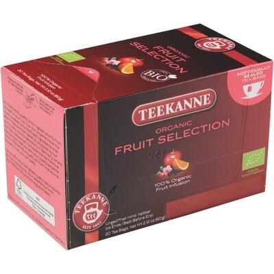 Grosspackung Teekanne Früchtetee aus BIO-Ernte 10 x 20er = 200 Beutel