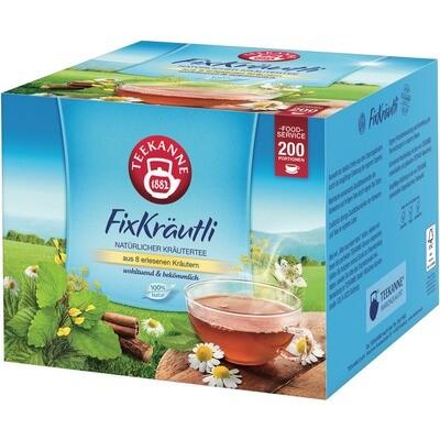 Grosspackung Teekanne Kräuer/Früchtetee Gastro 200er