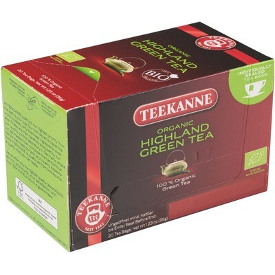 Grosspackung Teekanne Grüner Tee aus BIO-Ernte 10 x 20er = 200 Beutel