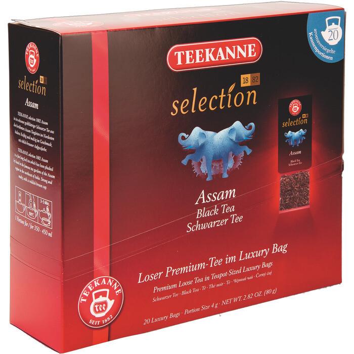 Grosspackung Teekanne Selection Luxury Bag Assam 8 x 20er = 160 Beutel