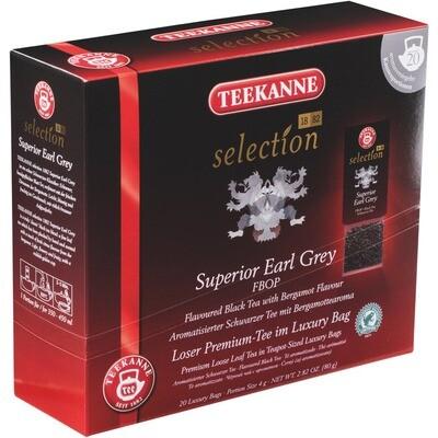 Grosspackung Teekanne Luxury Bag Earl Grey 8 x 20er = 160 Beutel