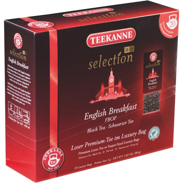 Grosspackung Teekanne Luxury Bag English Breakfast 8 x 20er = 160 Beutel
