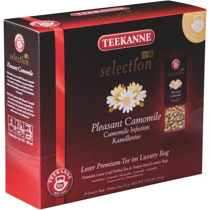 Grosspackung Teekanne Selection Teekanne Luxury Bag Kamille 8 x 20er = 160 Beutel