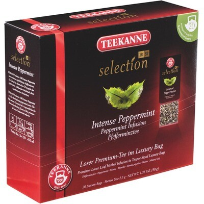 Grosspackung Teekanne Selection Teekanne Luxury Bag Pfefferminze 8 x 20er = 160 Beutel