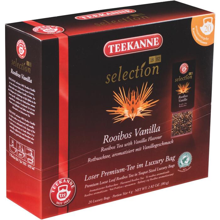 Grosspackung Teekanne Selection Teekanne Luxury Bag Rooibos Vanille 8 x 20er = 160 Beutel