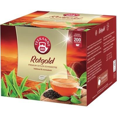 Grosspackung Teekanne Rotgold Brief 200er
