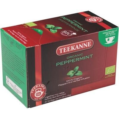 Grosspackung Teekanne Pfefferminze aus BIO-Ernte 10 x 20er = 200 Beutel