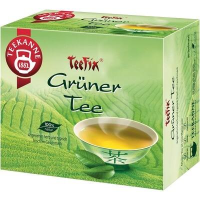 Grosspackung Teekanne Teefix Grüner Tee 40er 12 x 40er = 480 Beutel