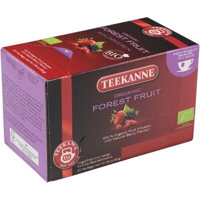 Grosspackung Teekanne Waldbeeren Bio Tee 10 x 20er = 200 Beutel