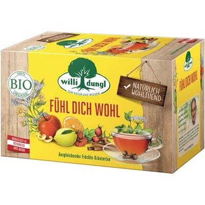 Grosspackung Willi Dungl Bio Tee Fühl Dich wohl 10 x 20 er = 200 Beutel