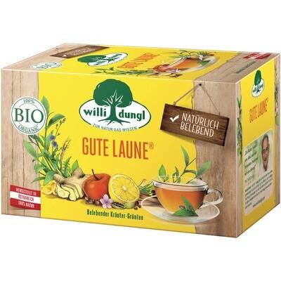 Grosspackung Willi Dungl Bio Tee Gute Laune 10 x 20 er = 200 Beutel