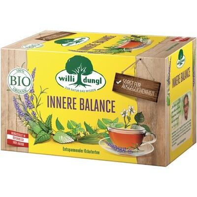 Grosspackung Willi Dungl Bio Tee Innere Balance 10 x 20 er = 200 Beutel