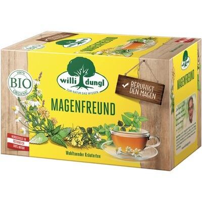 Grosspackung Willi Dungl Bio Tee Magenfreund 10 x 20 er = 200 Beutel