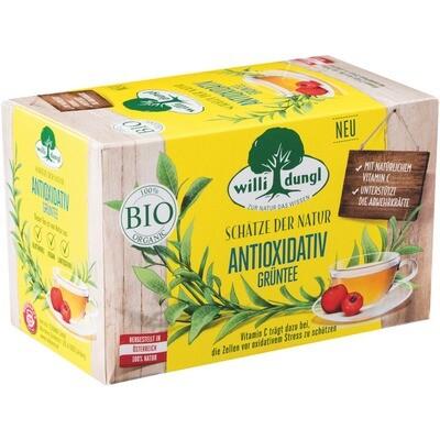 Grosspackung Willi Dungl Bio Tee natürlich Antivoxidativ 10 x 20 er = 200 Beutel