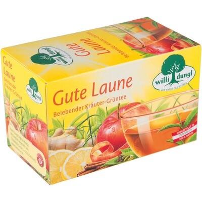 Grosspackung Willi Dungl Tee Gute Laune 10 x 20 er = 200 Beutel