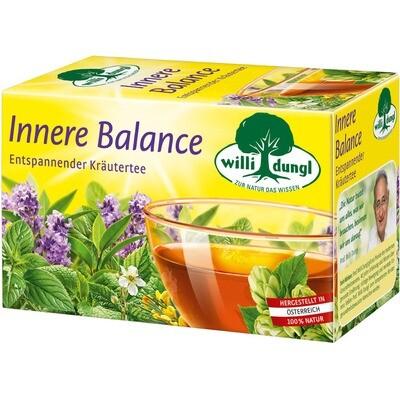 Grosspackung Willi Dungl Tee Innere Balance 10 x 20 er = 200 Beutel