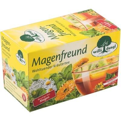 Grosspackung Willi Dungl Tee Magenfreund 10 x 20 er = 200 Beutel