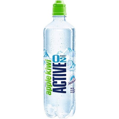 Grosspackung Active O2 Fitness Apfel/Kiwi 8 x 0,75 l = 6 Liter