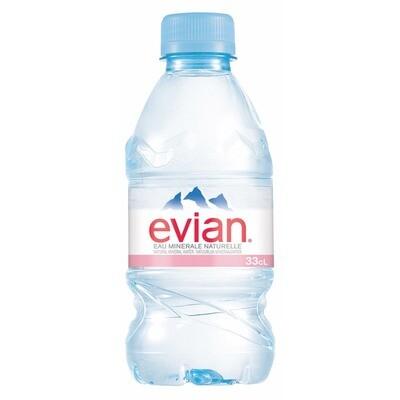 Grosspackung Evian Mineralwasser 24 x 0,33 l = 7,92 Liter
