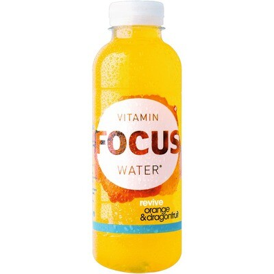 Grosspackung Focus Water Orange / Dragonfruit 12 x 0,5 l = 6 Liter