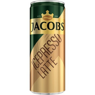 Grosspackung Jacobs Icepresso Latte 24 x 250 ml = 6 Liter