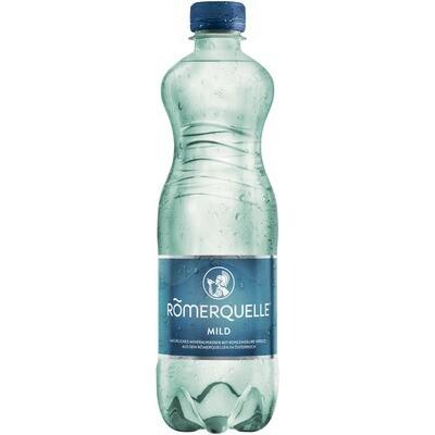 Grosspackung Römerquelle Mild Mineralwasser 24 x 0,5 l = 12 liter