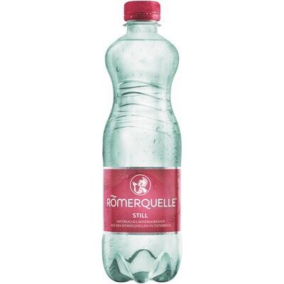 Grosspackung Römerquelle Still Mineralwasser 24 x 0,5 l = 12 liter