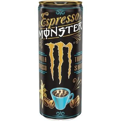 Grosspackung Monster Espresso Dose Vanilla 12 x 0,25 l = 3 Liter