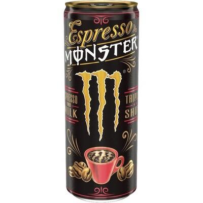Grosspackung Monster Espresso Original 12 x 0,25 l = 3 Liter
