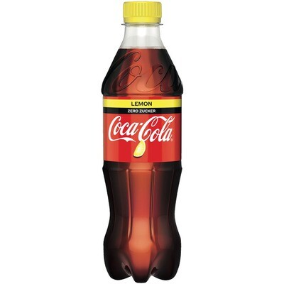 Grosspackung Coca Cola Lemon zero 24 x 0,5 l = 12 Liter