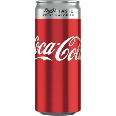 Grosspackung Coca Cola Light 24 x 0,33 l = 7,92 Liter