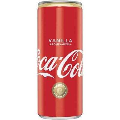 Grosspackung Coca Cola Vanilla 24 x 0,25 l = 6 Liter