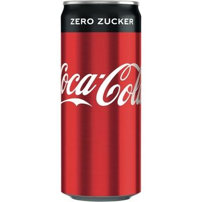 Grosspackung Coca Cola Vanilla 24 x 0,33 l = 7.92 Liter