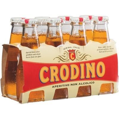 Grosspackung Crodino Italienischer Aperitif 6 x (8 x 0,1 l) = 4,8 Liter