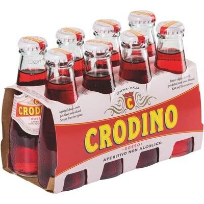 Grosspackung Crodino Rosso Italienischer Aperitif 6 x (8 x 0,1 l) = 4,8 Liter