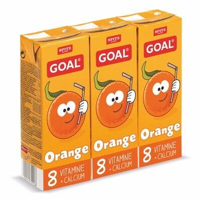 Grosspackung Goal Orange Kindergetränk 9 x (3 x 0,2 l) = 5,4 Liter