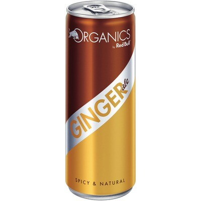 Grosspackung Organics by Red Bull Ginger Ale 24 x 0,25 l = 6 Liter