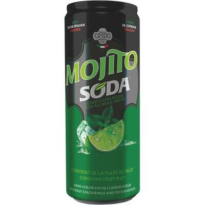Grosspackung Mojito Soda 24 x 0,33 l = 7,96 Liter
