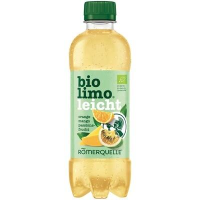 Grosspackung Römerquelle Bio Limo Orange Maracuja 12 x 0,375 l =  4,5 Liter