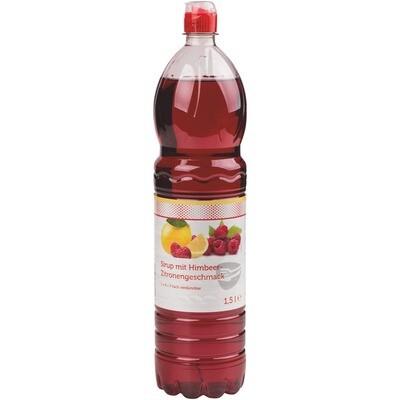 Grosspackung Economy Himbeer Zitronen Sirup 6 x 1,5 l PET = 9 Liter