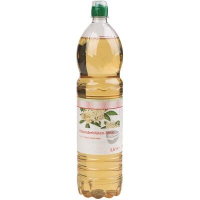 Grosspackung Economy Holunderblüten Sirup 6 x 1,5 l PET = 9 Liter