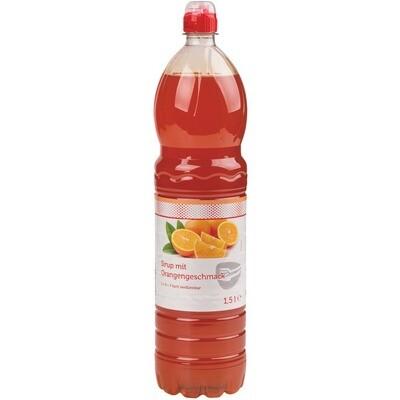 Grosspackung Economy Orangeade Sirup 6 x 1,5 l PET = 9 Liter