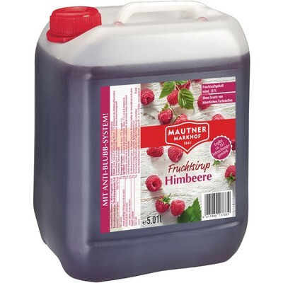 Grosspackung Mautner Himbeer Sirup 5 l