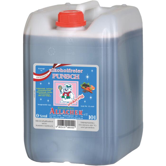 Grosspackung Allacher Früchtepunsch alkoholfrei aus Österreich 10 Liter